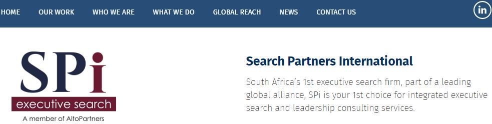 Search Partners International (PTY) Ltd
