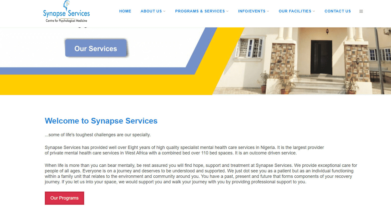 Synapse Services Recruitment 2021/2022 Application Form Updates