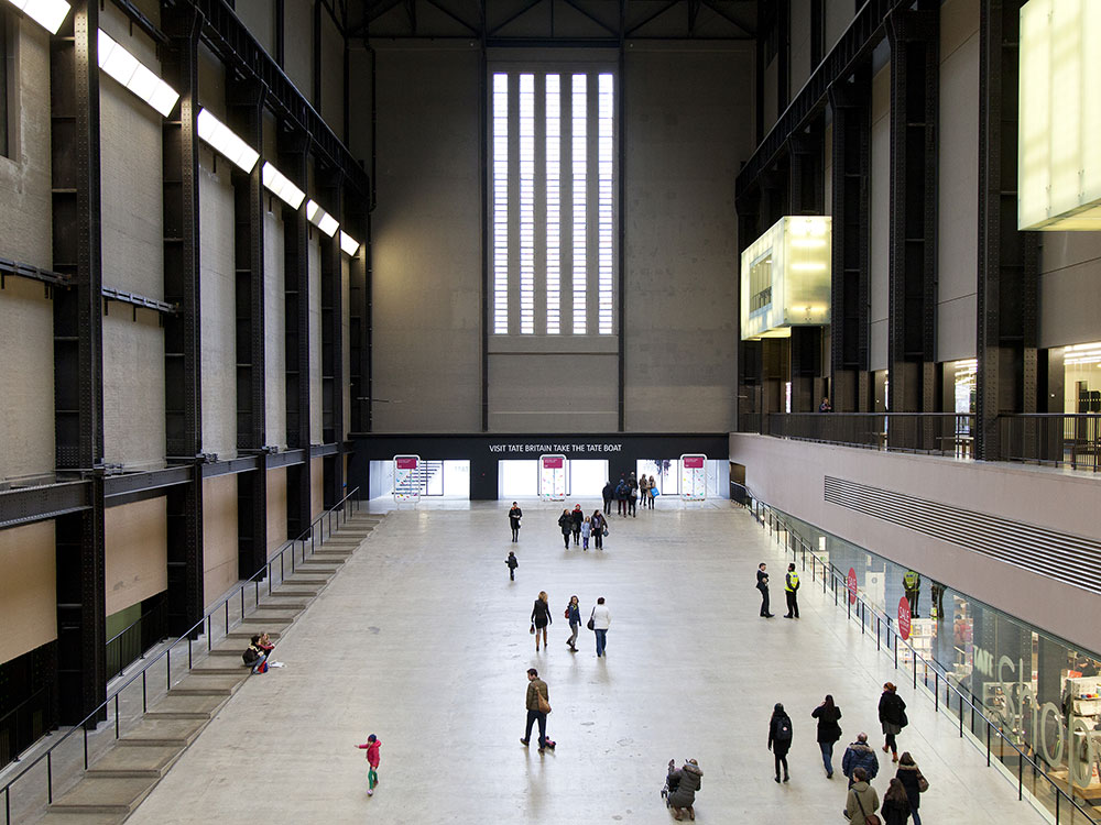Tate Modern and Tate Britain