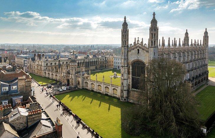 Die Universitätsstädte Cambridge und Oxford