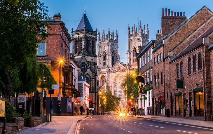 Mittelalterliches York und sein Münster