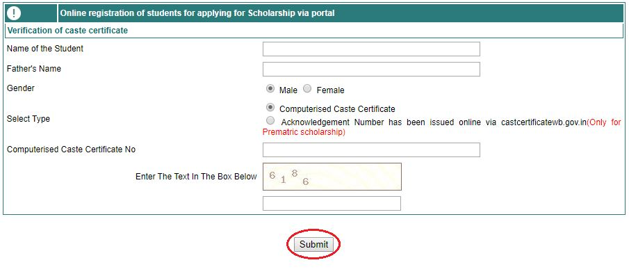 How to Apply Online for Oasis Scholarship