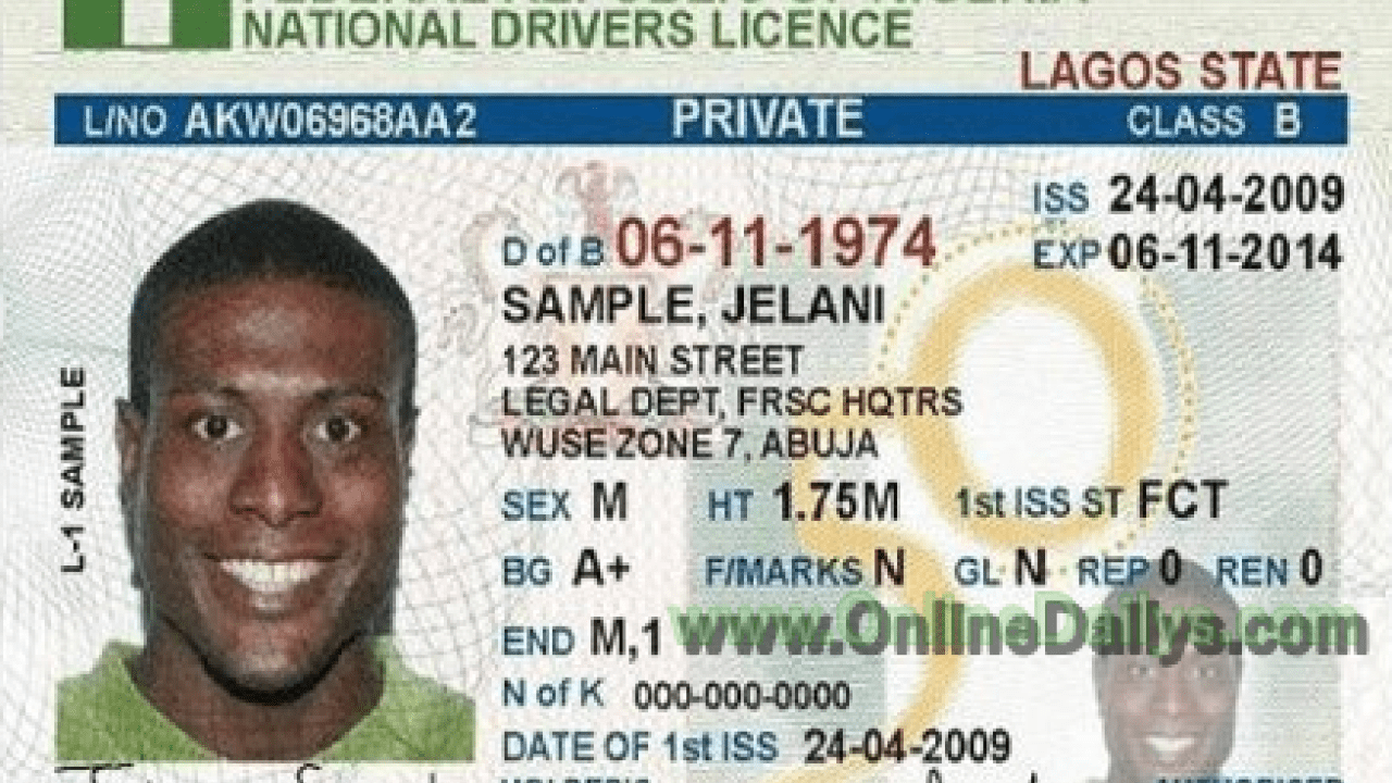 Renew Driver's License in Nigeria