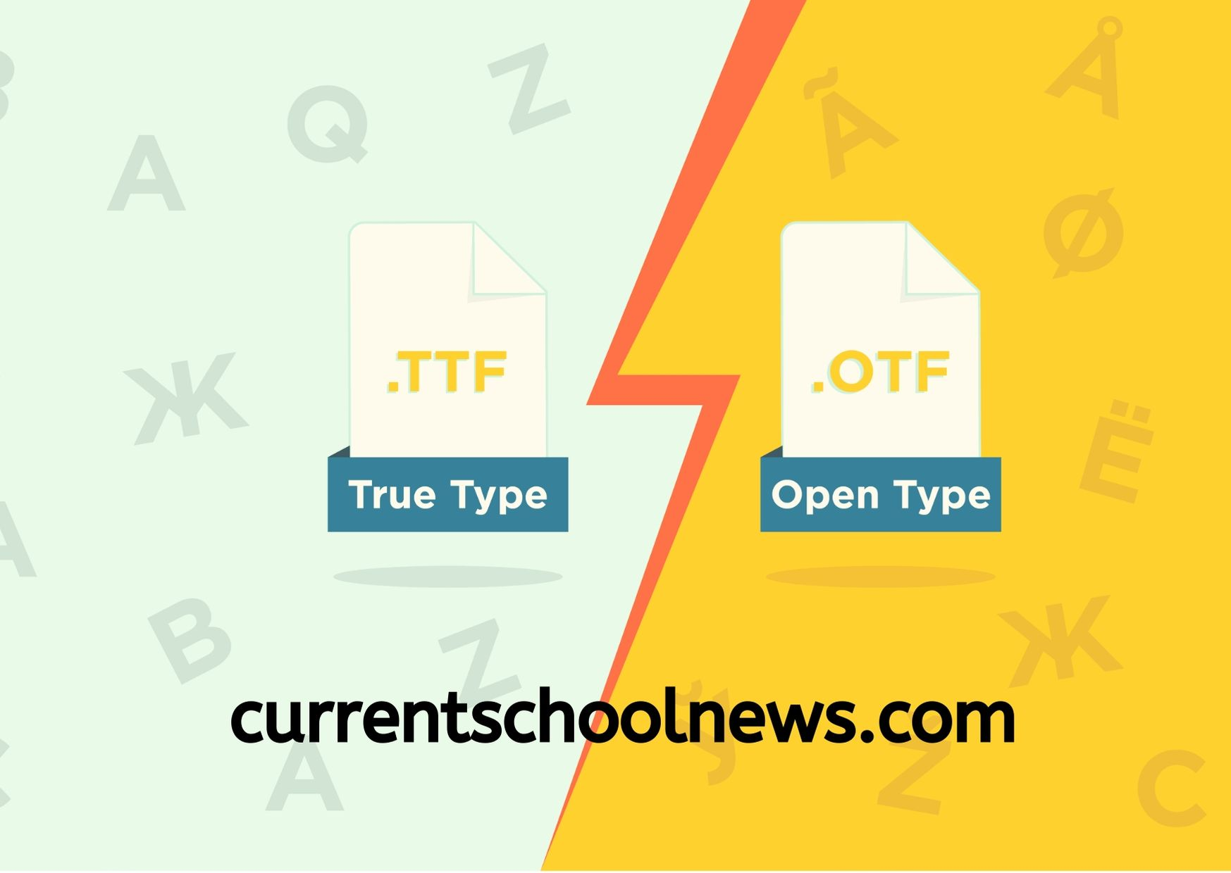 10 Major Differences Between TTF and OTF You Should Know