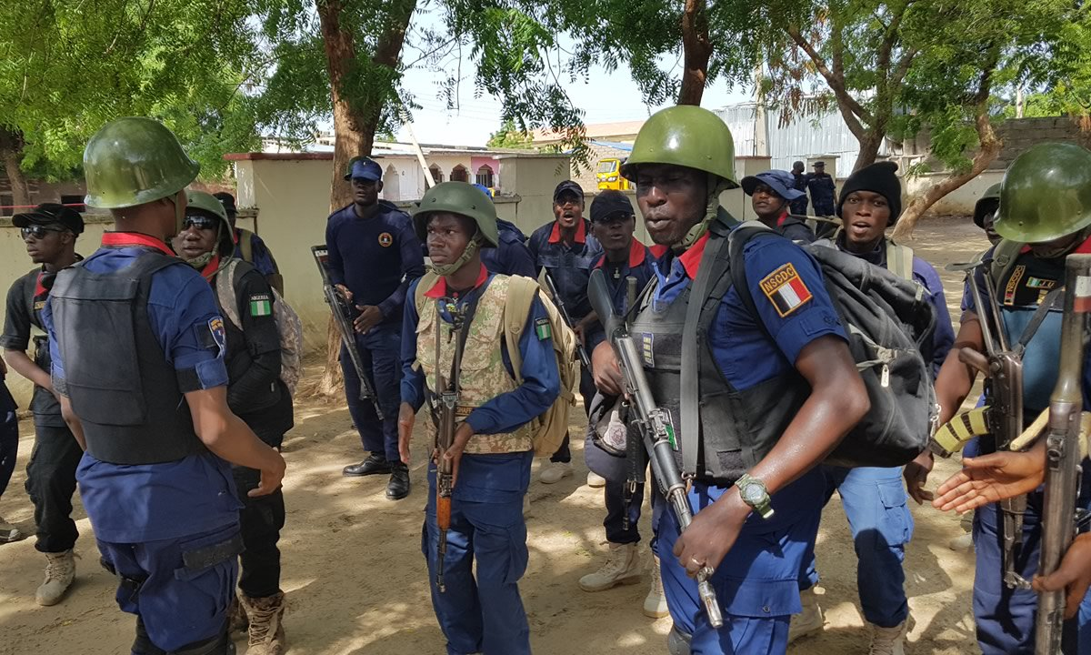 Nigeria Security and Civil Defence Corps Salary Structure