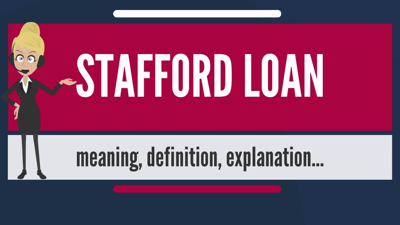 How to Successfully Apply for Stafford Loans Application 2020