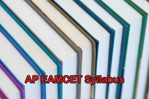 AP EAMCET 2020 Syllabus: Engineering, Agriculture & Medical