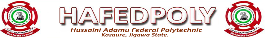 Hussaini Adamu Federal Polytechnic Courses and Requirements