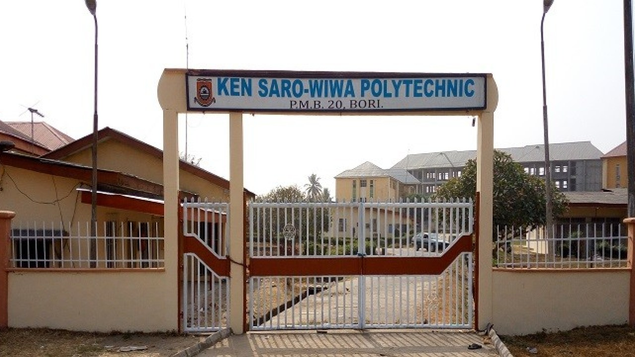 Ken Sarowiwa Polytechnic Courses and Requirements