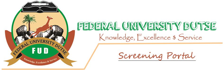 Federal University Dutse (FUD) Postgraduate Admission List 2019/2020