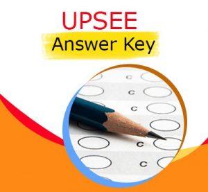 UPSEE 2020 مفتاح الإجابة ، أوراق السؤال | تعال هنا
