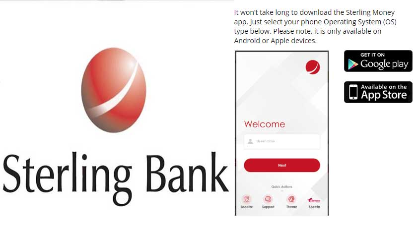 Sterling Bank Mobile App Download | Sterling Bank Mobile Banking & Mobile Recharge