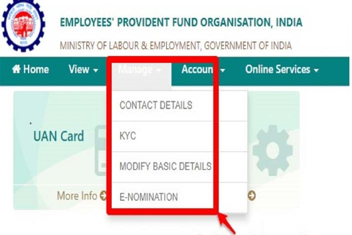 EPFO Sign Up and Login Portal