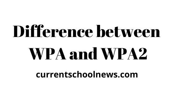 Verschillen tussen WPA en WPA2