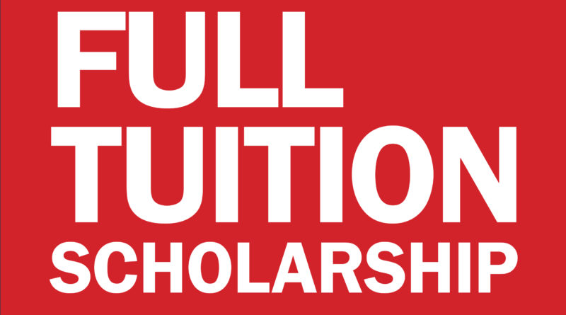 Full Tuition Scholarships for Transfer Students 2020/2021 Form Portal