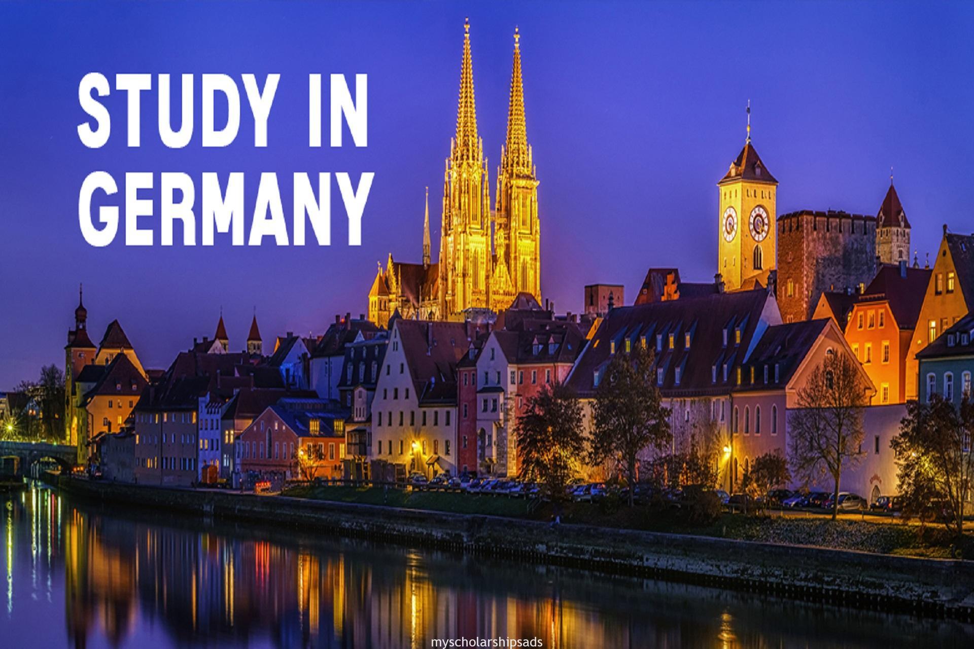Studeer in Duitsland Volledig gefinancierde studiebeurs 2020-aanvraagformulier Portal