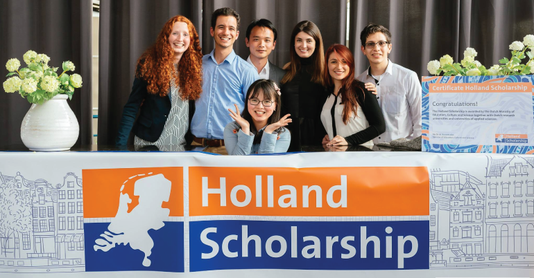 Study in Holland Scholarships 2020/2021 Application Form Portal