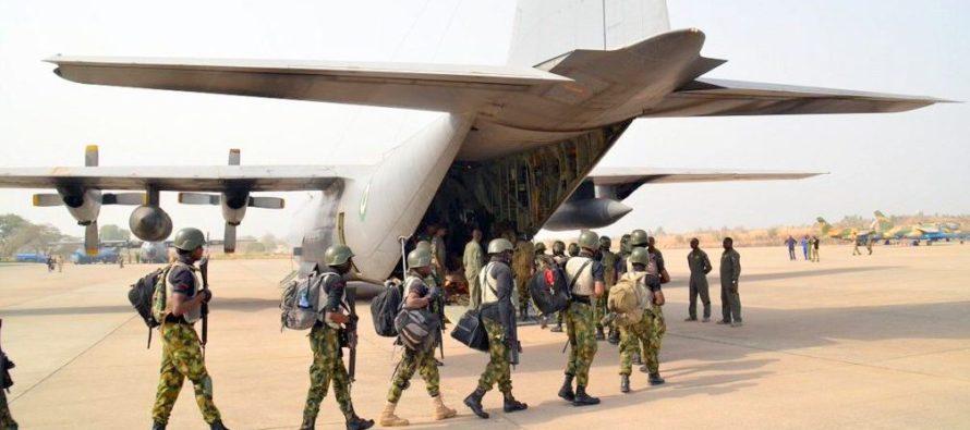 هيكل الرواتب في القوات الجوية النيجيرية