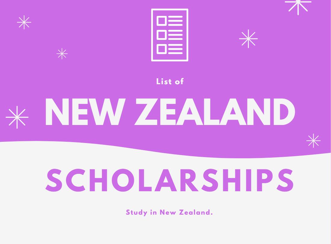 新西兰奖学金2020/2021出国留学申请门户
