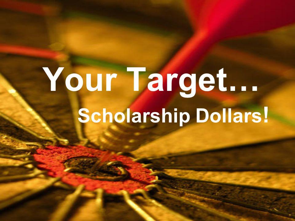 Target Scholarship Application Portal collegescholarships.org 2020 Update.