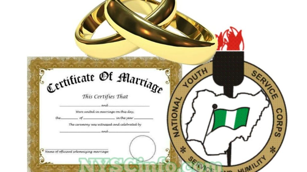NYSC Registration Requirements for Married Women | All Documents