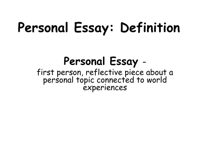 Personal Essay Examples and Tips to Writing a Good Personal Essay