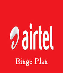 Airtel Binge Plan: How To Activate Airtel Binge  Data Plan