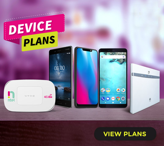 Ntel Data Plans and Tariff Bundles and Subscriptions