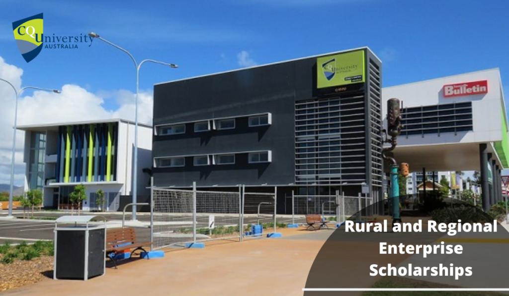 Rural and Regional Enterprise Scholarship Application Update