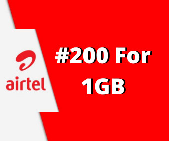Airtel 200 for 1GB : How To Activate Airtel 200 for 1GB.