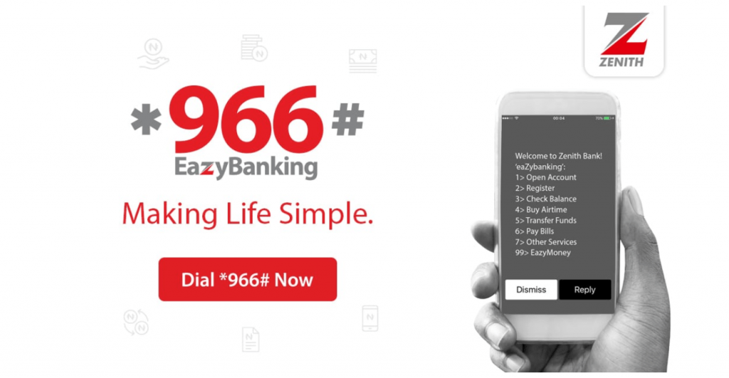 Zenith Bank Transfer Code 2020 | Dial *966# Check Complete Guide Here