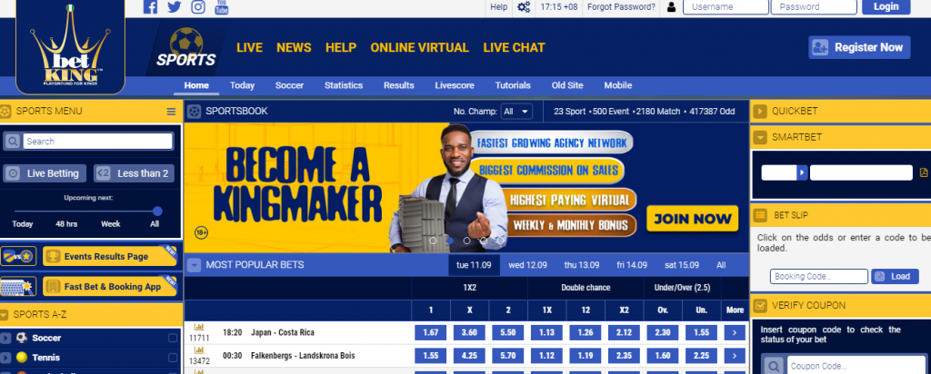 BetKing Mobile Coupon Check Guide 2020 and How to Check Bet slip