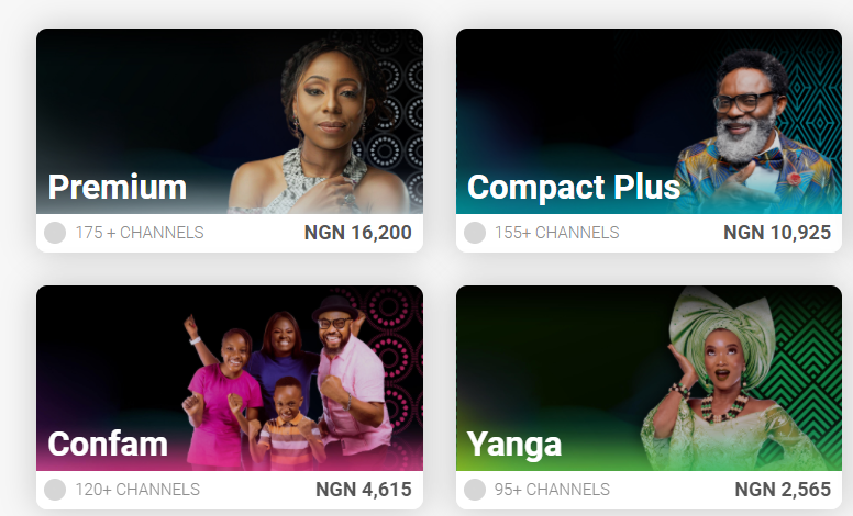 DSTV Nigeria Products 2021 Check Prices, Bouquets