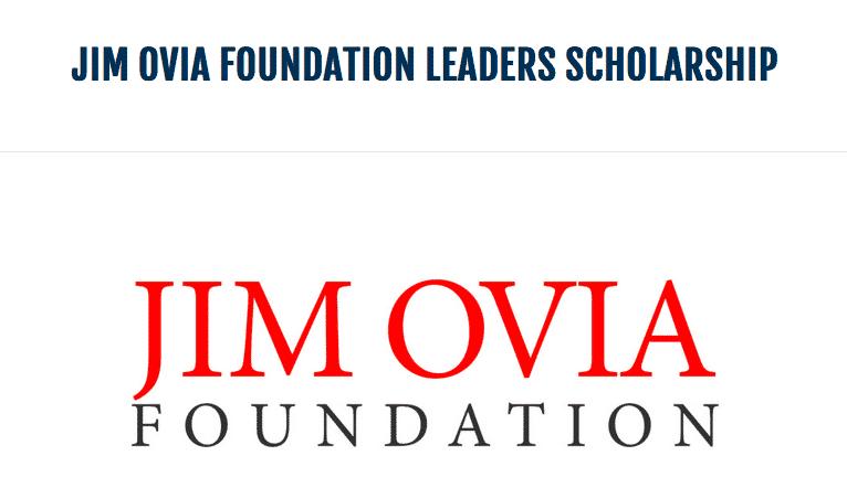 Jim Ovia Foundation Scholarship
