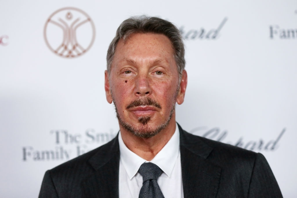 5. Larry Ellison - USA