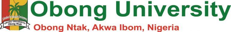 Obong University JUPEB Admission Form