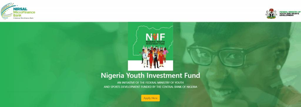 NYIF Registration Form 2020/2021 Check Online Portal nyif.nmfb.com.ng