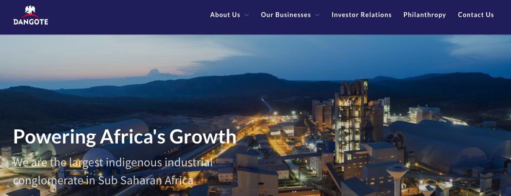 Dangote Group Recruitment Portal 2021/2022 www.dangote.com