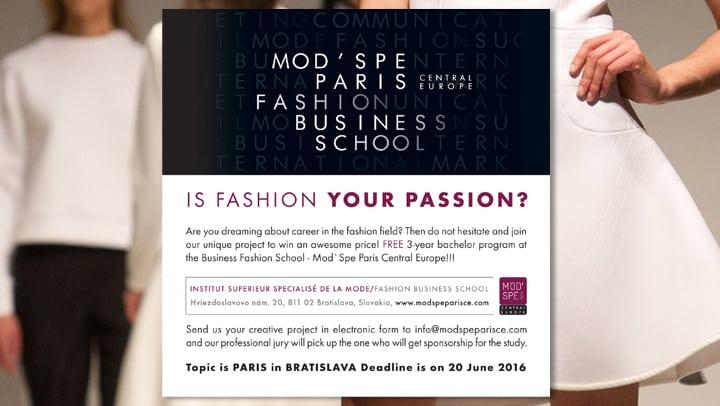 Marist-Mod'Spe Paris Fashion Program