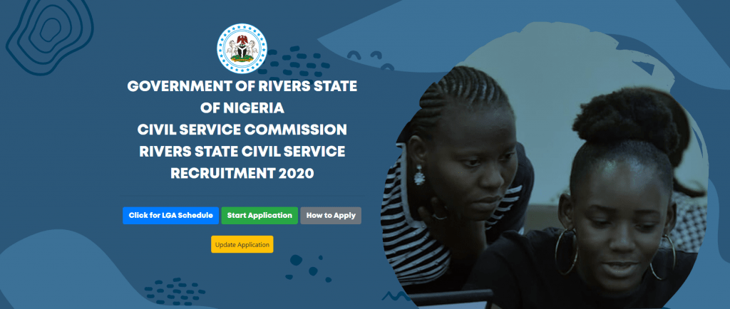 www.rivjobs.ng Registration Portal Rivers State Civil Service Commission 2020