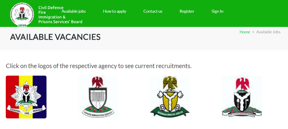 Civil Defence Correctional, Fire and Immigration Services Board (CDCFIB) Recruitment Aptitude Test 2021