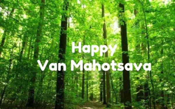 Van Mahotsav Day Festival for Tree Planting Held on 1st -7th July, 2020