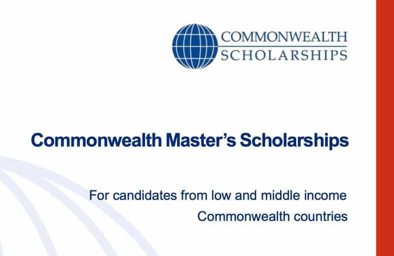 Commonwealth Postgraduate Scholarship