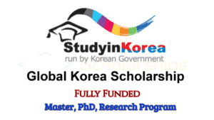 Korean Government Fully-Funded Scholarship