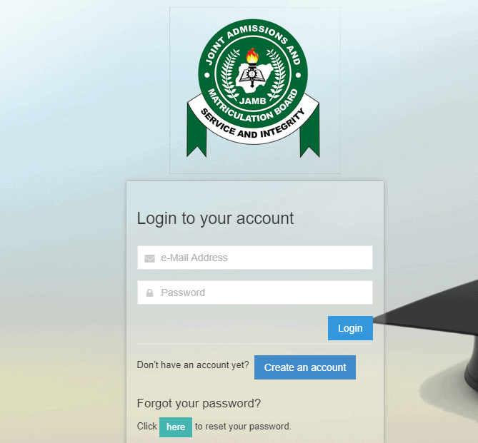 JAMB Website and Offical Portal
