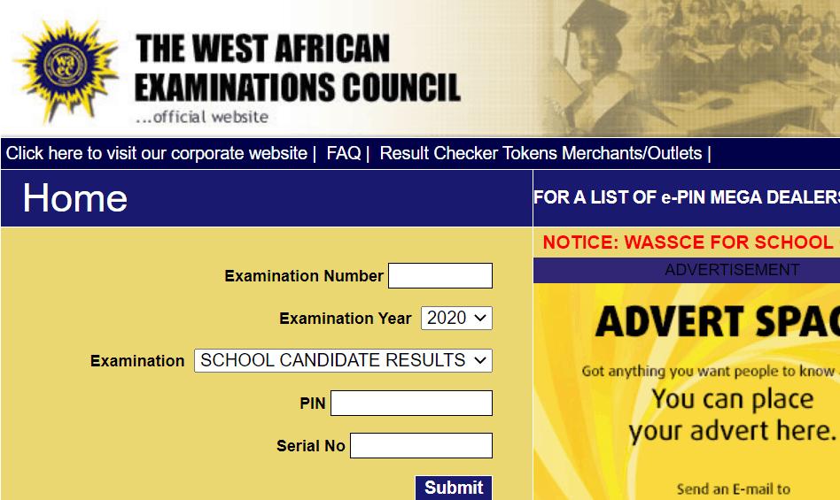 2021 WAEC Result Checker
