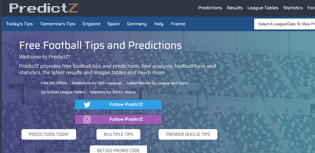 surest prediction sites