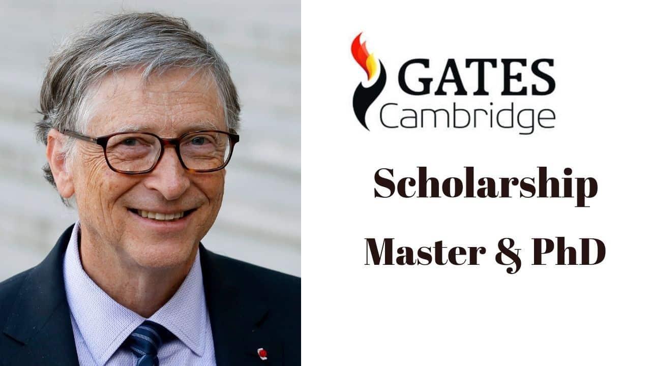 bill gates scholarship
