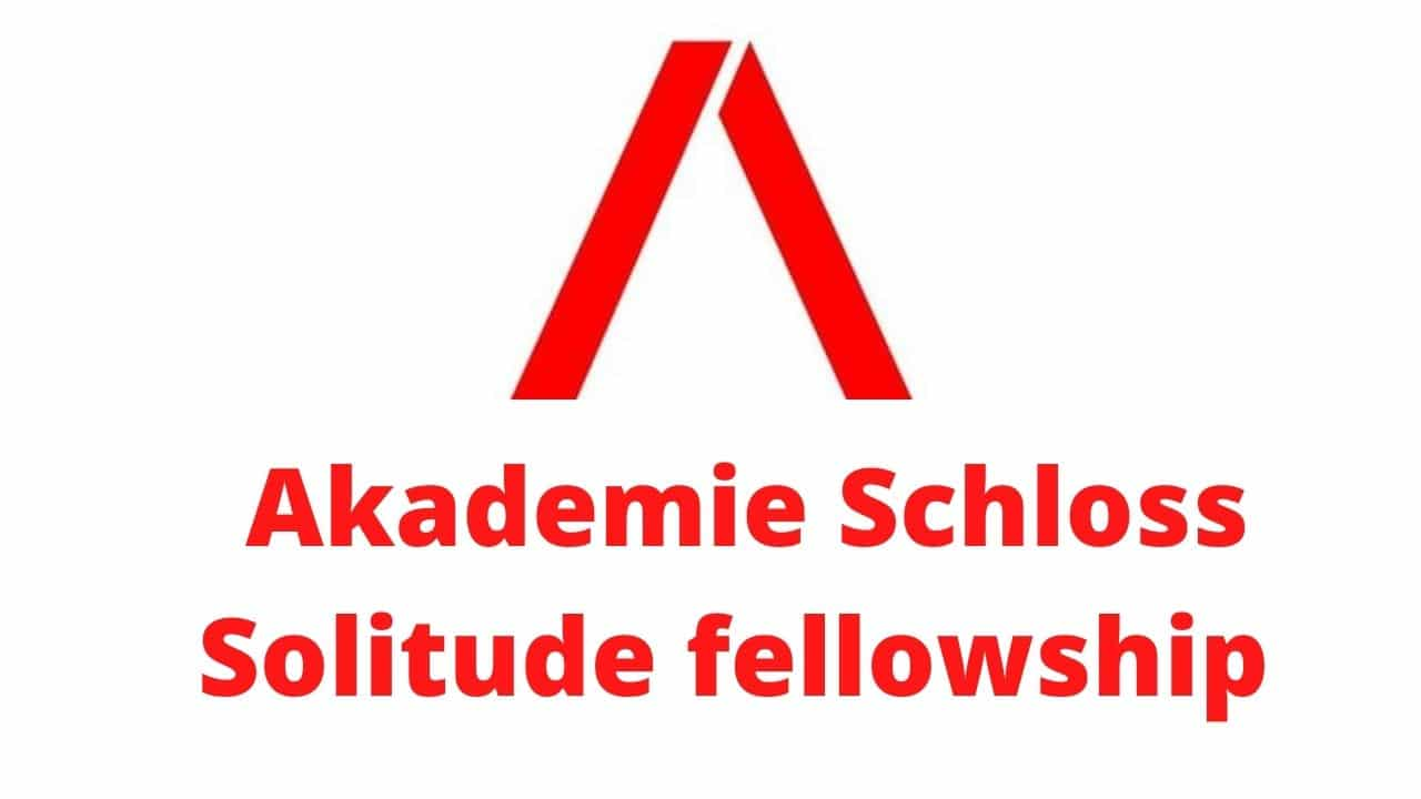 Akademie Schloss Solitude Fellowship