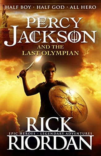 The Percy Jackson and the Olympians Series by Rick Riordan